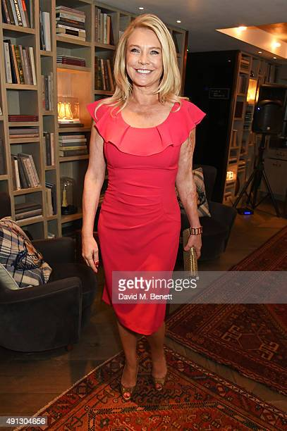 Amanda Redman attends the Voice Of A Woman Awards at the Belgraves Hotel on October 4 2015 in London England