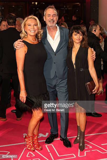 Amanda Redman Neil Morrissey and Amrita Acharia attend the ITV Gala hosted by Jason Manford at London Palladium on November 24 2016 in London England