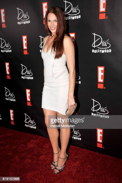 Amanda Righetti attends E Oscar Party at Drai's on March 7 2010 in Hollywood California