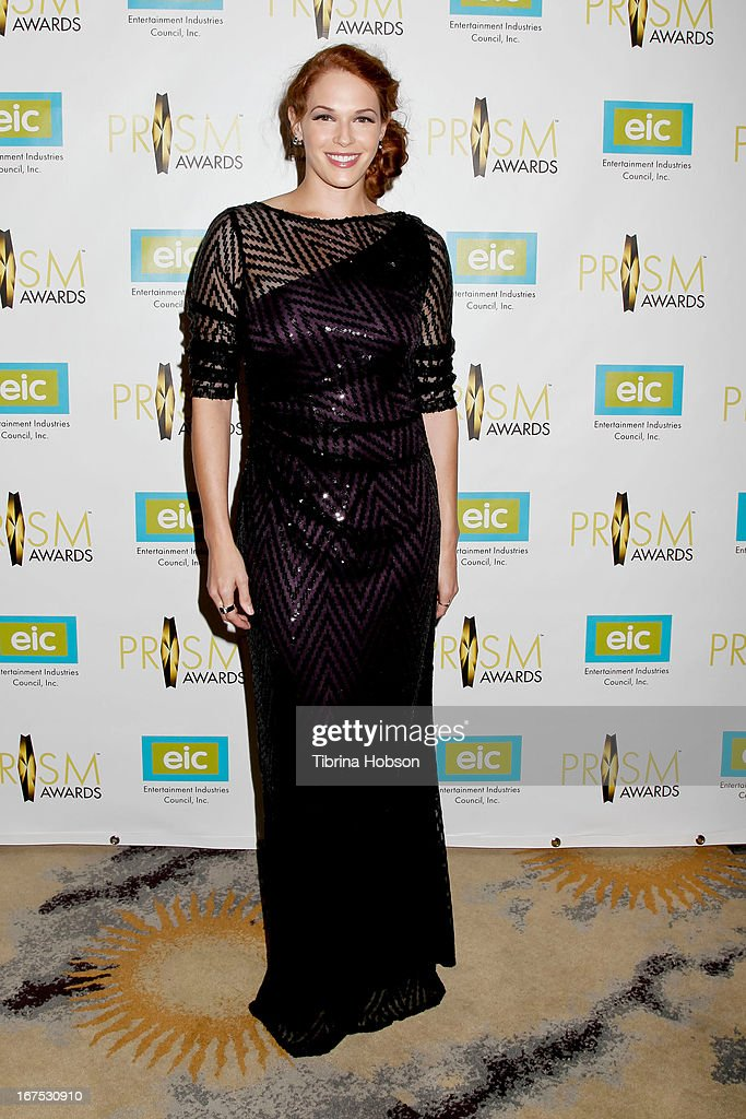 Amanda Righetti attends the 17th annual Prism Awards at Beverly Hills Hotel on April 25, 2013 in Beverly Hills, California.