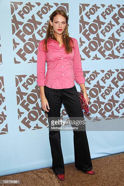 Amanda Righetti during 2005/2006 FOX Prime Time UpFront Arrivals in New York City New York United States