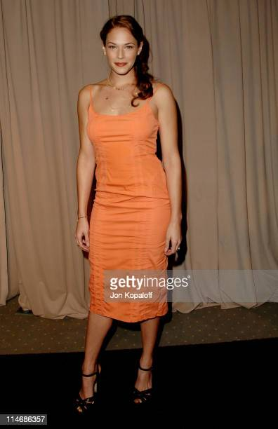 Amanda Righetti during 6th Annual Awards Season Diamond Fashion Show Preview Hosted by Diamond Information Center and In Style at Beverly Hills Hotel...