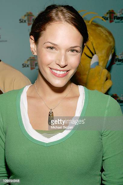 Amanda Righetti during Joe Francis Birthday Celebration In Conjunction with the Opening of new Rollercoaster Tatsu at Six Flags Magic Mountain in Los...