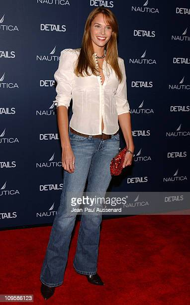 Amanda Righetti during Nautica Details 'Next Big Things' Party Arrivals at The Hollywood Roosevelt Hotel in Hollywood California United States
