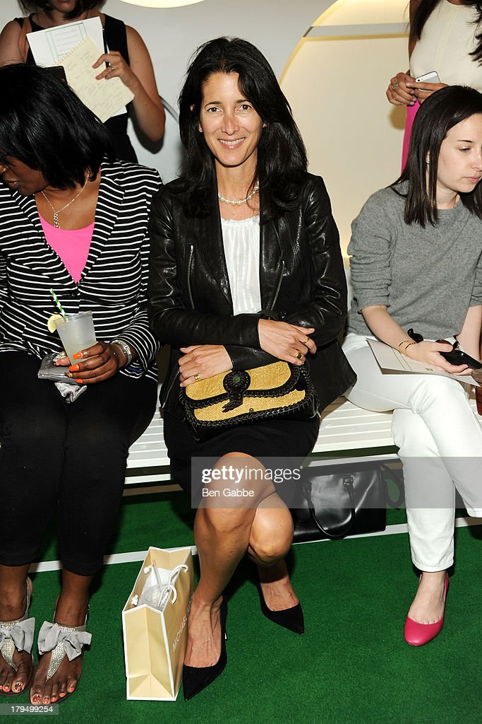 <a gi-track='captionPersonalityLinkClicked' href=/galleries/search?phrase=Amanda+Ross&family=editorial&specificpeople=2110208 ng-click='$event.stopPropagation()'>Amanda Ross</a> attends the Lisa Perry presentation during Mercedes-Benz Fashion Week Spring 2014 on September 4, 2013 in New York City.