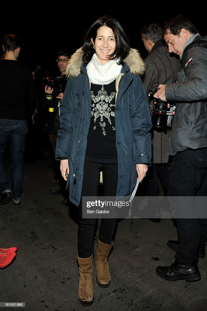 <a gi-track='captionPersonalityLinkClicked' href=/galleries/search?phrase=Amanda+Ross&family=editorial&specificpeople=2110208 ng-click='$event.stopPropagation()'>Amanda Ross</a> attends the Rag & Bone Women's fall 2013 fashion show during Mercedes-Benz Fashion Week at Skylight Studios at Moynihan Station on February 8, 2013 in New York City.