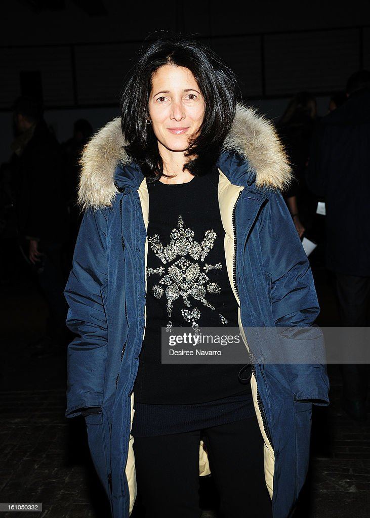 <a gi-track='captionPersonalityLinkClicked' href=/galleries/search?phrase=Amanda+Ross&family=editorial&specificpeople=2110208 ng-click='$event.stopPropagation()'>Amanda Ross</a> attends Yigal Azrouel during Fall 2013 Mercedes-Benz Fashion Week at Highline Stages on February 8, 2013 in New York City.