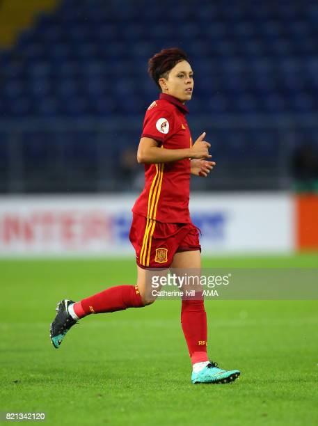 Amanda Sampedro of Spain Women during the UEFA Women's Euro 2017 match between England and Spain at Rat Verlegh Stadion on July 23 2017 in Breda...