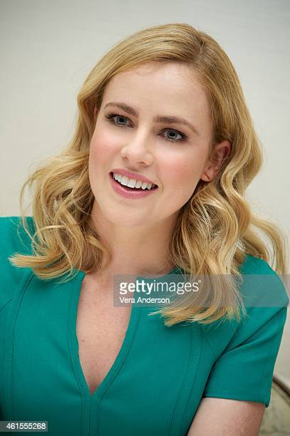 Amanda Schull at the 'Twelve Monkeys' Press Conference at the Four Seasons Hotel on January 14 2015 in Beverly Hills California
