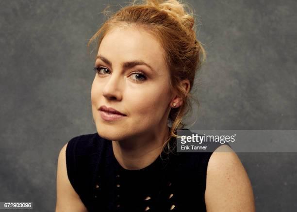 Amanda Schull from 'Devil's Gate' poses at the 2017 Tribeca Film Festival portrait studio on April 24 2017 in New York City