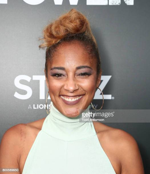 Amanda Seales attends STARZ 'Power' Season 4 LA Screening And Party at The London West Hollywood on June 23 2017 in West Hollywood California