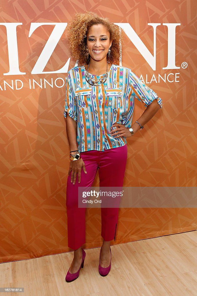 DJ Amanda Seales attends 'The Spoken Word' hosted by Kim Coles at L'Oreal Soho Academy on February 26, 2013 in New York City.