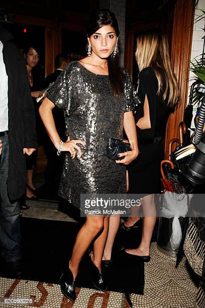 Amanda Setton attends Private Dinner hosted by CARLOS JEREISSATI CEO of IGUATEMI at Pastis on September 6 2008 in New York City
