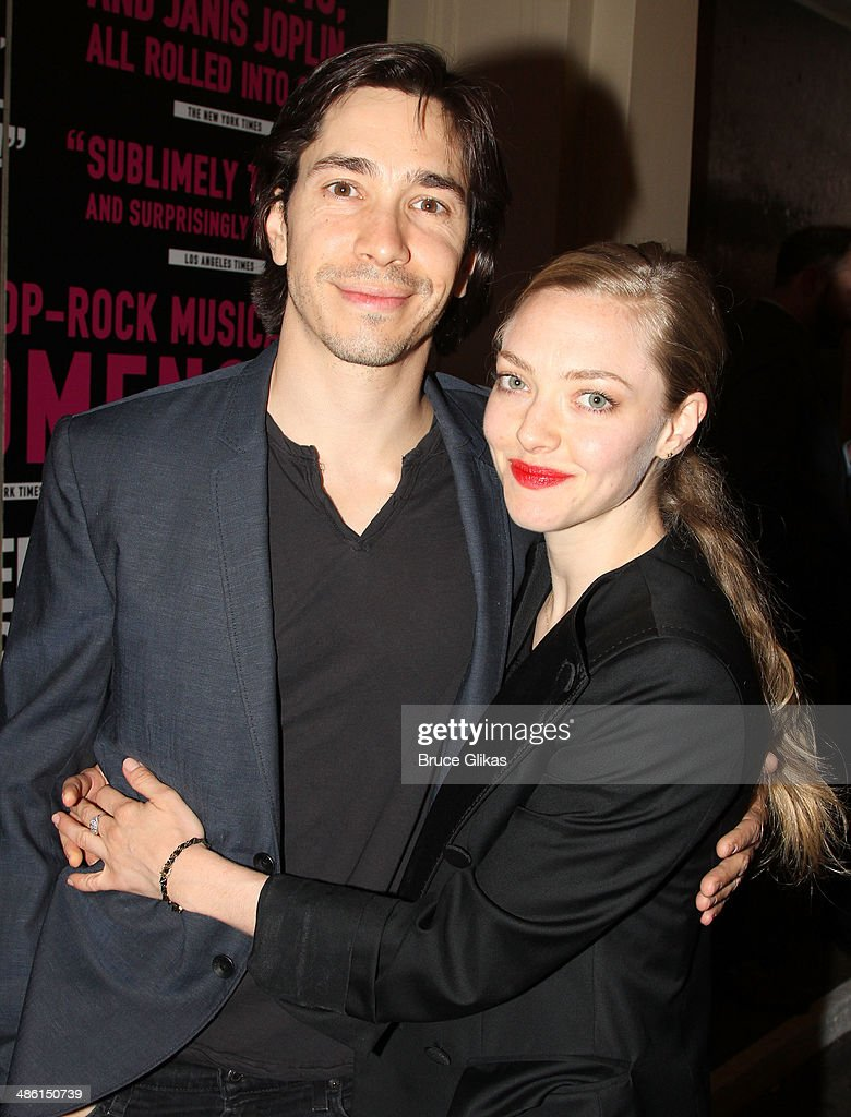 <a gi-track='captionPersonalityLinkClicked' href=/galleries/search?phrase=Amanda+Seyfried&family=editorial&specificpeople=216619 ng-click='$event.stopPropagation()'>Amanda Seyfried</a> and <a gi-track='captionPersonalityLinkClicked' href=/galleries/search?phrase=Justin+Long&family=editorial&specificpeople=240305 ng-click='$event.stopPropagation()'>Justin Long</a> attend the Broadway opening night of 'Hedwig And The Angry Inch' at The Belasco Theatre on April 22, 2014 in New York City.