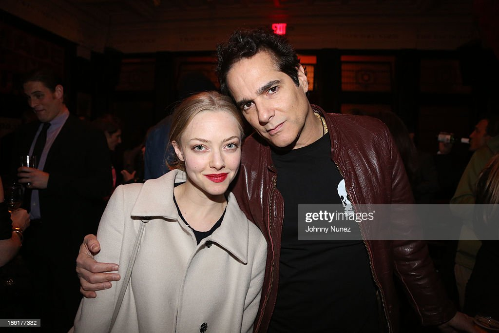 <a gi-track='captionPersonalityLinkClicked' href=/galleries/search?phrase=Amanda+Seyfried&family=editorial&specificpeople=216619 ng-click='$event.stopPropagation()'>Amanda Seyfried</a> and <a gi-track='captionPersonalityLinkClicked' href=/galleries/search?phrase=Yul+Vazquez&family=editorial&specificpeople=2491110 ng-click='$event.stopPropagation()'>Yul Vazquez</a> attend the LAByrinth Theater Company Celebrity Charades 2013 benefit gala at Capitale on October 28, 2013 in New York City.