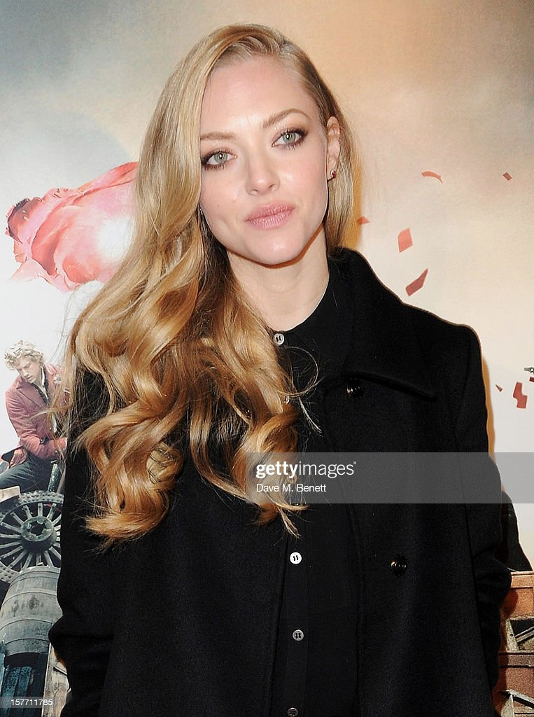 <a gi-track='captionPersonalityLinkClicked' href=/galleries/search?phrase=Amanda+Seyfried&family=editorial&specificpeople=216619 ng-click='$event.stopPropagation()'>Amanda Seyfried</a> attends an after party following the World Premiere of 'Les Miserables' at The Roundhouse on December 5, 2012 in London, England.