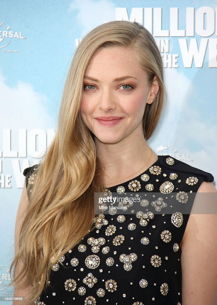 <a gi-track='captionPersonalityLinkClicked' href=/galleries/search?phrase=Amanda+Seyfried&family=editorial&specificpeople=216619 ng-click='$event.stopPropagation()'>Amanda Seyfried</a> attends photocall to promote 'A Million Ways To Die In The West' on May 27, 2014 in London, England.