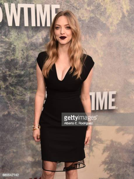 Amanda Seyfried attends the premiere of Showtime's 'Twin Peaks' at The Theatre at Ace Hotel on May 19 2017 in Los Angeles California
