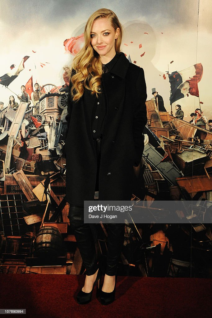 <a gi-track='captionPersonalityLinkClicked' href=/galleries/search?phrase=Amanda+Seyfried&family=editorial&specificpeople=216619 ng-click='$event.stopPropagation()'>Amanda Seyfried</a> attends the world premiere after party for Les Miserables at The Odeon Leicester Square on December 5, 2012 in London, England.