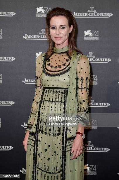Amanda Shadforth arrives for the JaegerLeCoultre Gala Dinner during the 74th Venice International Film Festival at Arsenale on September 5 2017 in...