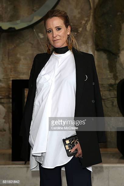 Amanda Shadforth attends the MercedesBenz Presents Maticevski show at MercedesBenz Fashion Week Resort 17 Collections at The Cutaway Barangaroo...
