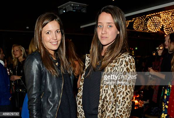 Amanda Sheppard and India Langton attend as Osman Yousefzada and Poppy Delevingne celebrate the launch of the fourth issue of collaborative journal...