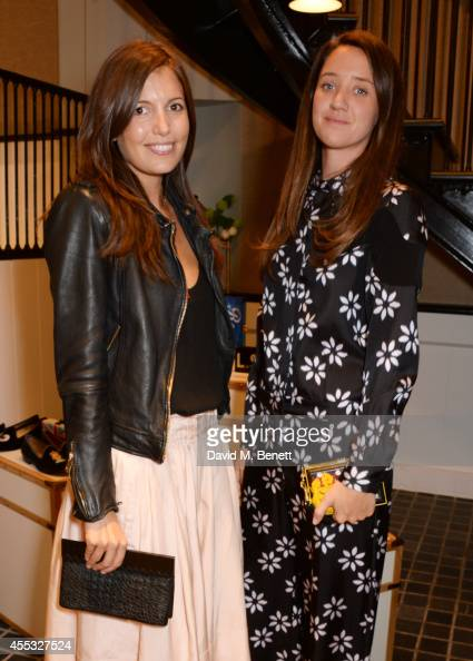Amanda Sheppard and India Langton attend the M'oda 'Operandi launch on September 12 2014 in London England