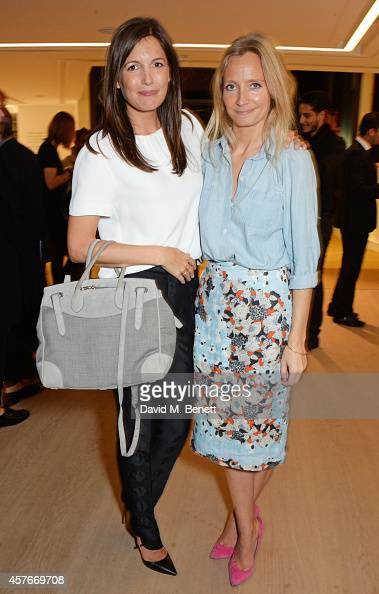 Amanda Sheppard and Martha Ward attend the Ralph Lauren Fall 2014 Collection fashion and accessories presentation in celebration of the new Phillips...