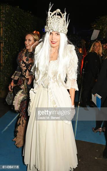 Amanda Sheppard attends the Unicef UK Halloween Ball raising vital funds to support Unicef's lifesaving work for Syrian children in danger at One...