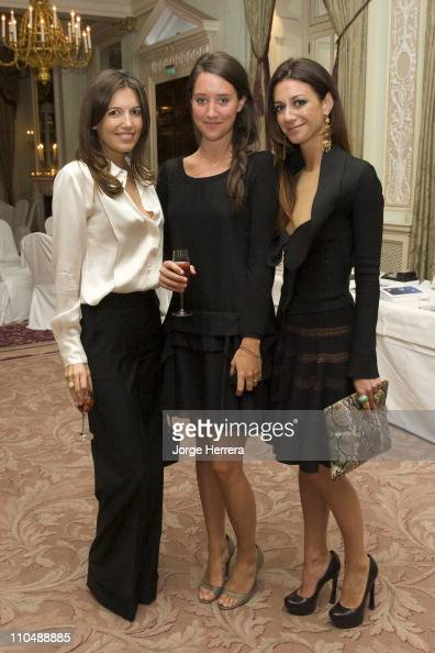 Amanda Sheppard India Langton and Marie Louise Scio attend the 'Il Pellicano' book launch party at The Royal Automobile Club on March 16 2011 in...