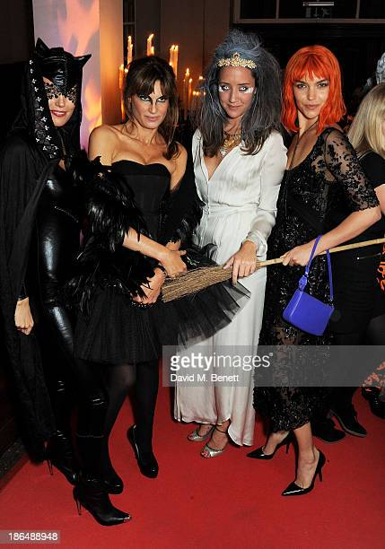Amanda Sheppard Jemima Khan India Langton and Arizona Muse attend the UNICEF UK Halloween Ball hosted by Jemima Khan raising vital funds for UNICEF's...