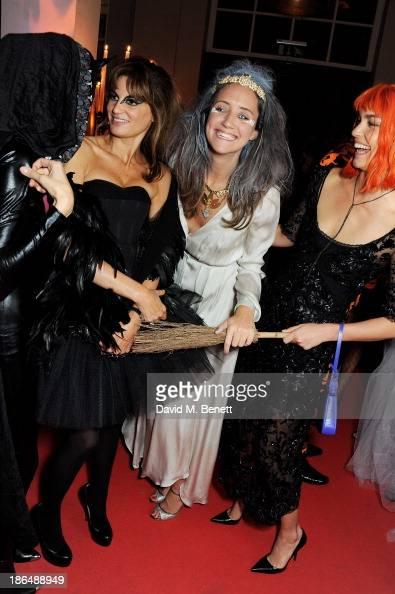 Amanda Sheppard Jemima Khan India Langton and Arizona Muse attend the UNICEF UK Halloween Ball hosted by Jemima Khan raising vital funds for UNICEF's...