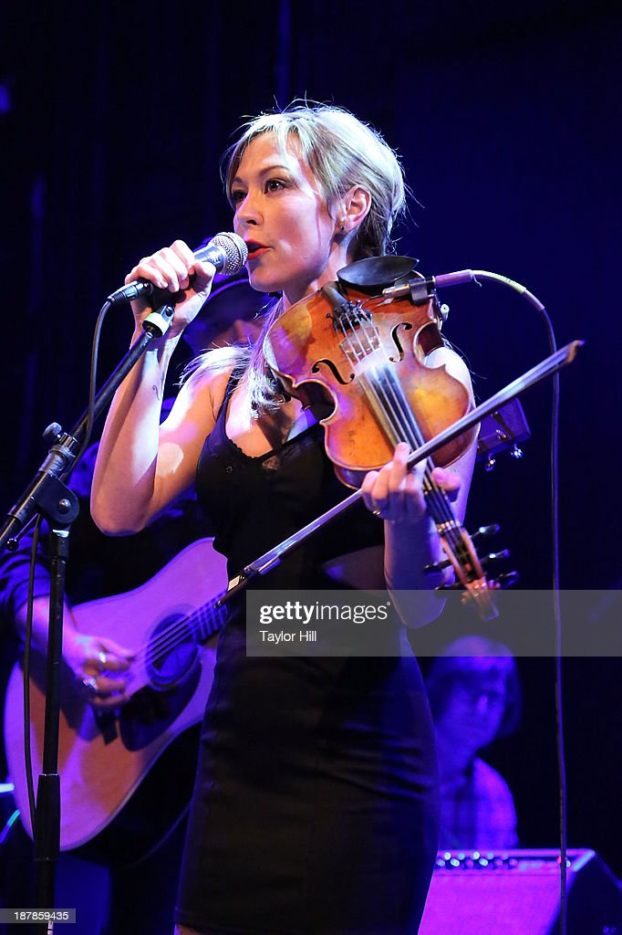 Amanda Shires performs during Dylan Fest NYC 2013 at the Bowery Ballroom on November 12, 2013 in New York City.