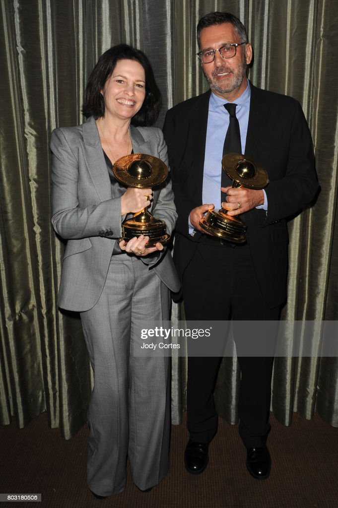 Amanda Silver and Rick Jaffa attends the 43rd Annual Saturn Awards at The Castaway on June 28, 2017 in Burbank, California.