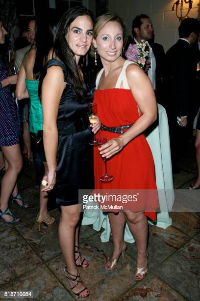 Amanda Stermeth and Amba Goad attend The YOUNG PATRONS CIRCLE of AMERICAN FRIENDS Hosts SOIREE AU LOUVRE at Payne Whitney Mansion on June 3 2010