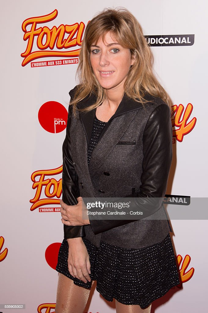 Amanda Sthers attends the 'Fonzy' Paris Premiere at Cinema Gaumont Opera, in Paris.