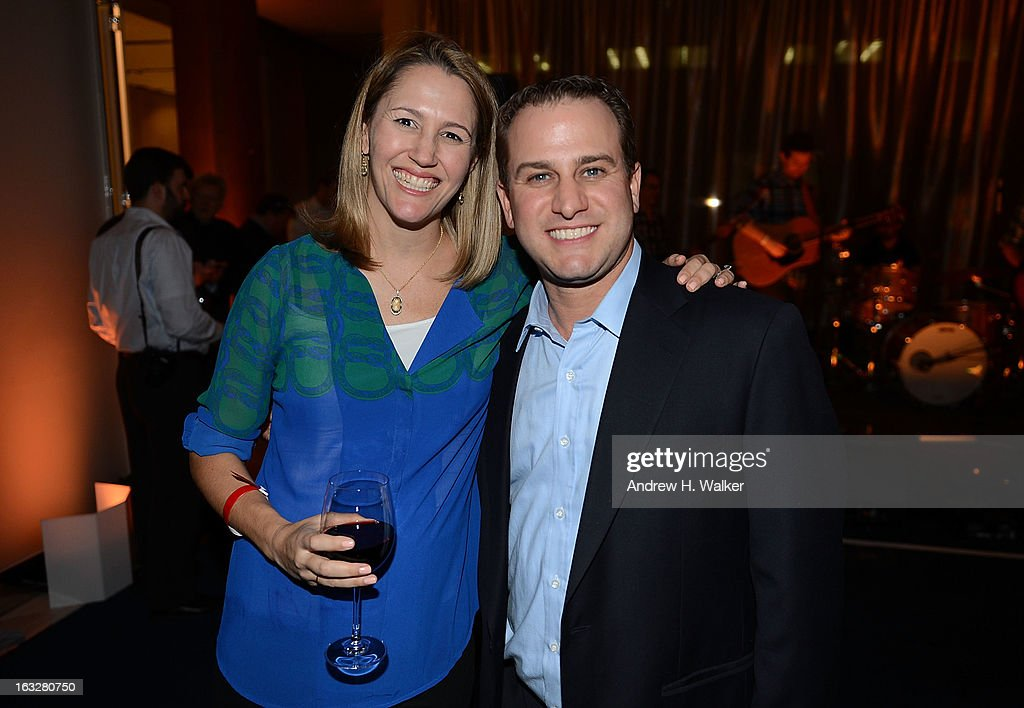 Amanda Timchak and Scott Sherman attend the City Harvest: A Mid-Winter Escape on March 5, 2013 in New York City.