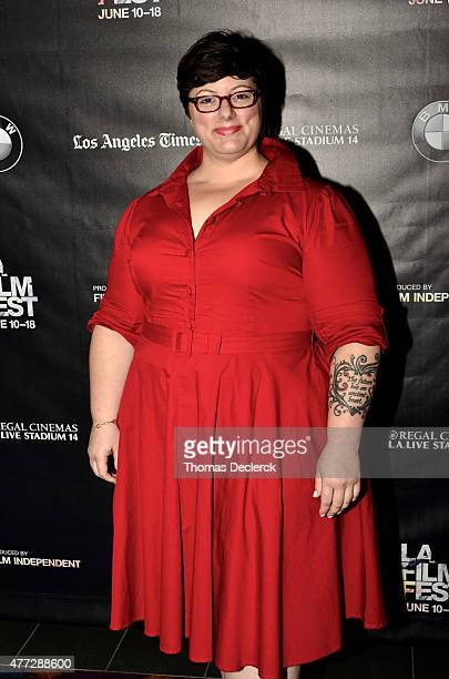 Amanda Timpson Executive in Charge of Production at BunimMurray Productions attends the UN Panel during the 2015 Los Angeles Film Festival at Regal...