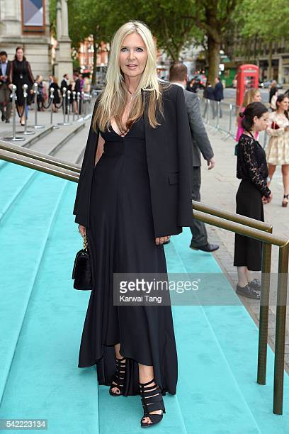 Amanda Wakeley arrives for the VA Summer Party at Victoria and Albert Museum on June 22 2016 in London England