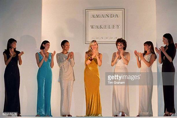 Amanda Wakeley At Her Gala Fashion Show In Aid Of The Lord Mayor's Appeal For The Cancer Research Campaign Celebrity Models Included Marie Helvin And...