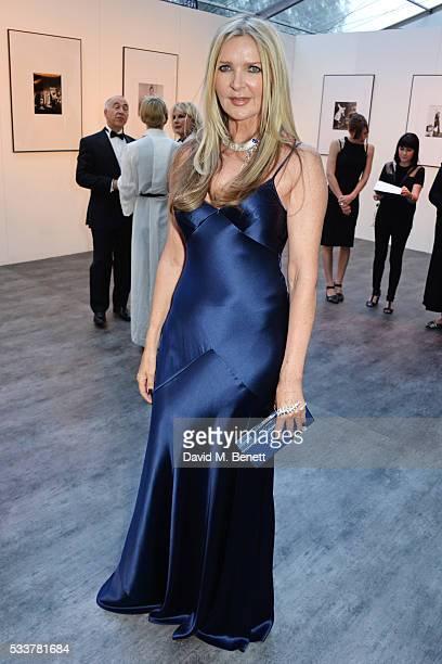 Amanda Wakeley attends British Vogue's Centenary gala dinner at Kensington Gardens on May 23 2016 in London England