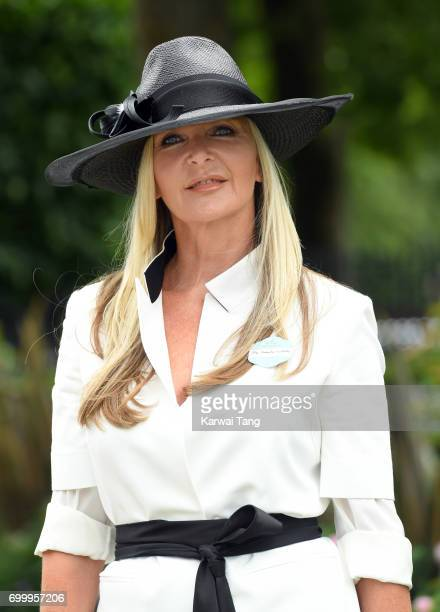 Amanda Wakeley attends Ladies Day of Royal Ascot 2017 at Ascot Racecourse on June 22 2017 in Ascot England