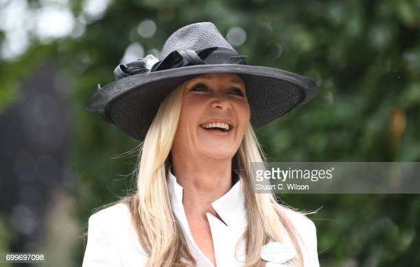 Amanda Wakeley attends Royal Ascot 2017 at Ascot Racecourse on June 22 2017 in Ascot England