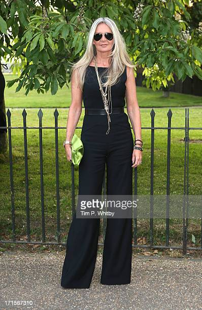 Amanda Wakeley attends the annual Serpentine Gallery summer party at The Serpentine Gallery on June 26 2013 in London England