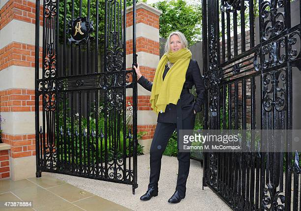 Amanda Wakeley attends the Chelsea Flower Show at Royal Hospital Chelsea on May 18 2015 in London England