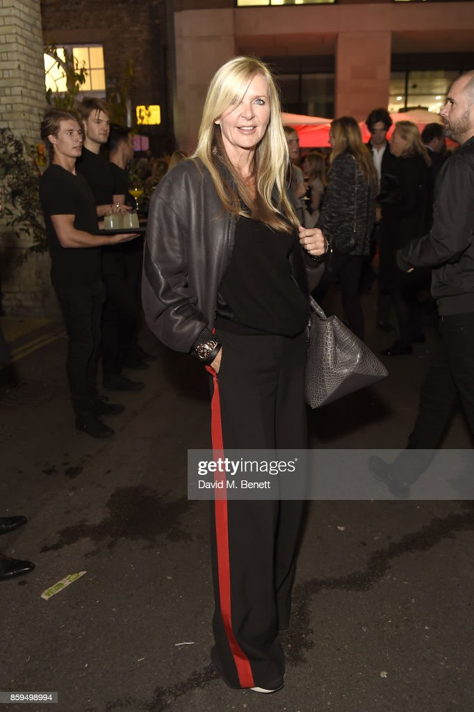Amanda Wakeley attends the Conde Nast Traveller 20th anniversary party at Vogue House on October 9, 2017 in London, England.