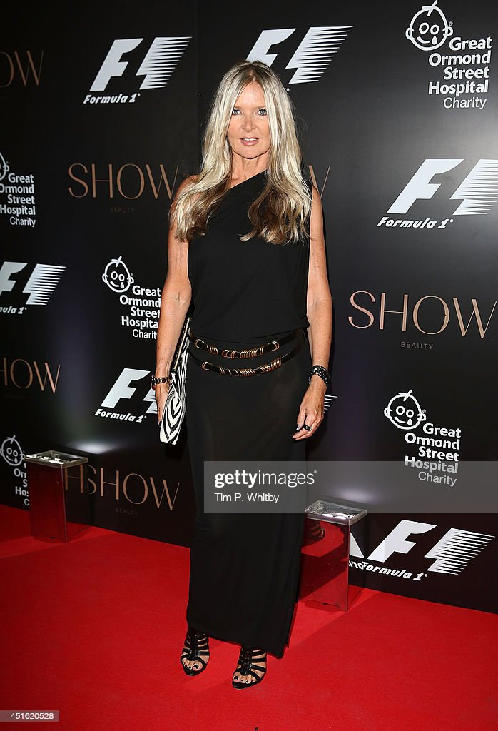 <a gi-track='captionPersonalityLinkClicked' href=/galleries/search?phrase=Amanda+Wakeley+-+Fashion+Designer&family=editorial&specificpeople=12440392 ng-click='$event.stopPropagation()'>Amanda Wakeley</a> attends The F1 Party in aid of the Great Ormond Street Children's Hospital at Victoria and Albert Museum on July 2, 2014 in London, England.