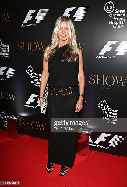 Amanda Wakeley attends The F1 Party in aid of the Great Ormond Street Children's Hospital at Victoria and Albert Museum on July 2 2014 in London...