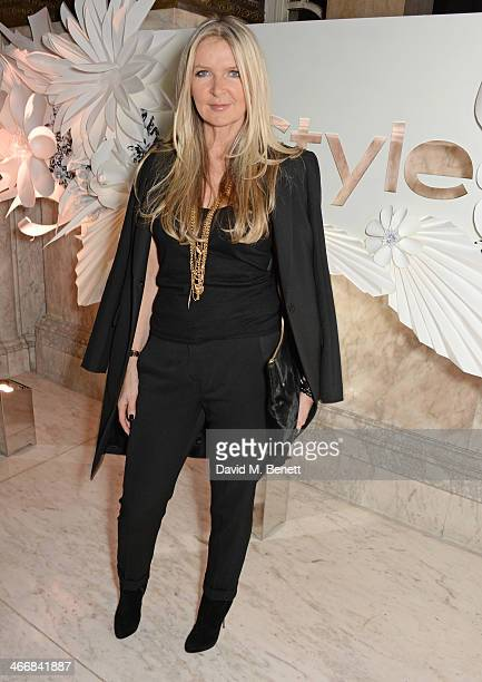 Amanda Wakeley attends the InStyle Best of British Talent party in celebration of BAFTA in association with Lancome and Sky Living at Dartmouth House...
