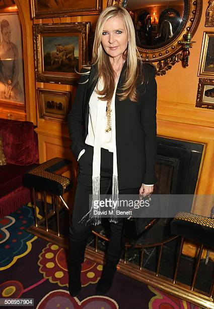 Amanda Wakeley attends the launch of GP Nutrition Supplements a collection of five premium nutritional programmes perfect for modern living at...